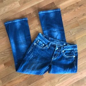 Miss Me Jeans Style No. JE5734EN Easy Boot Size 27